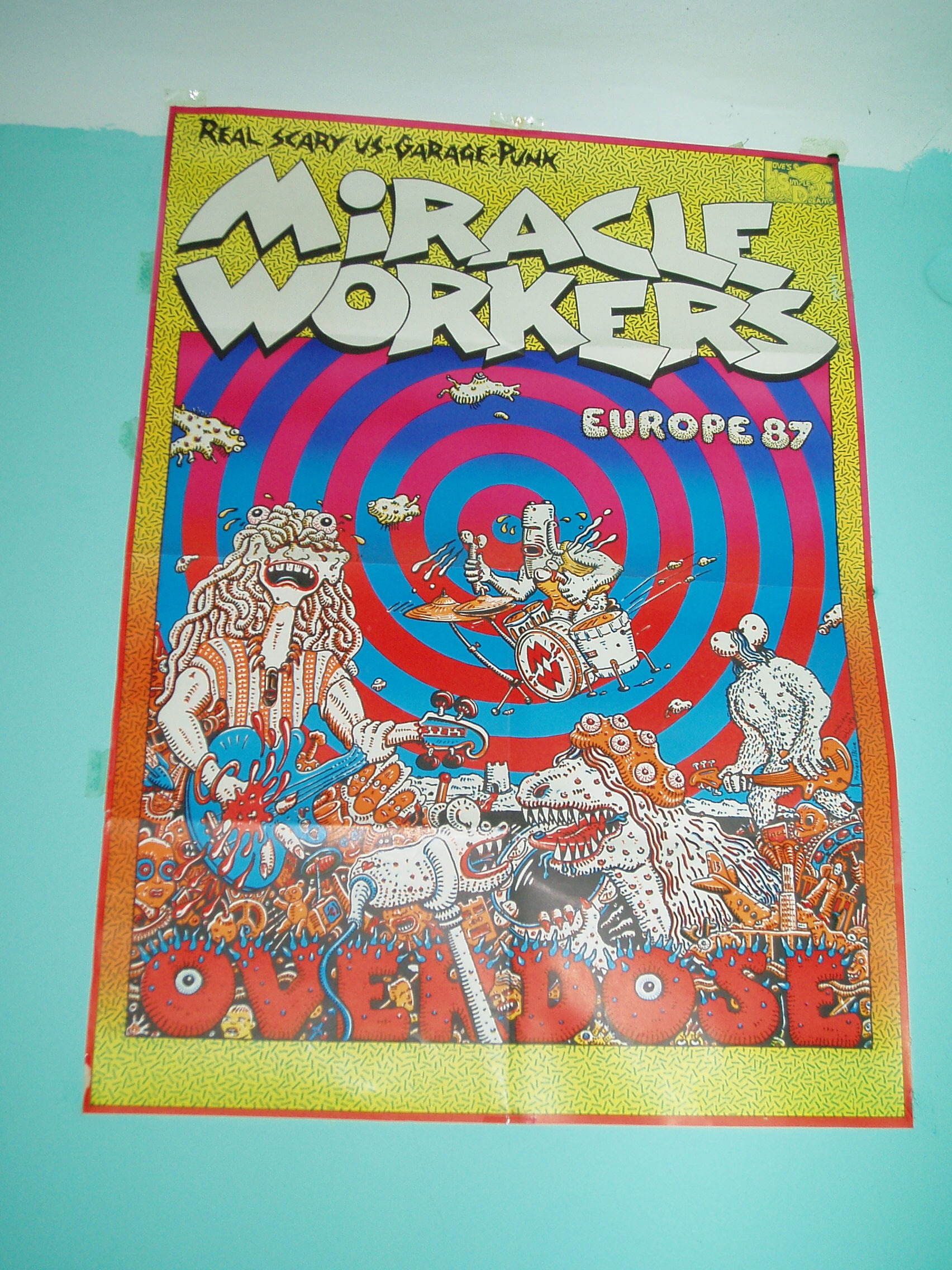 poster mirage workers