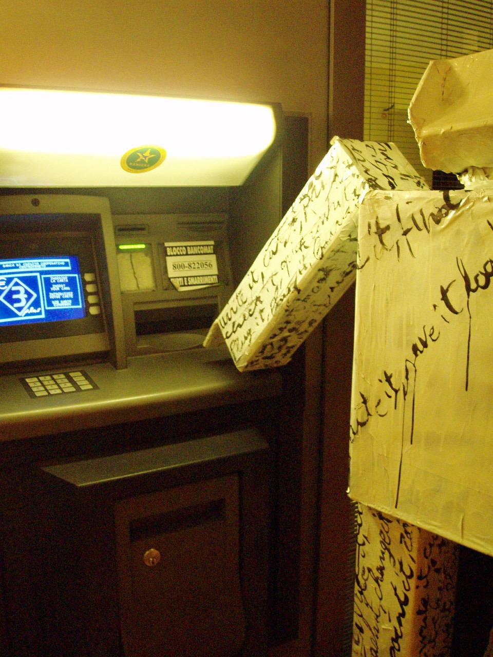 tecnology carta robot cartapesta colla spray cazzate pirate cartone