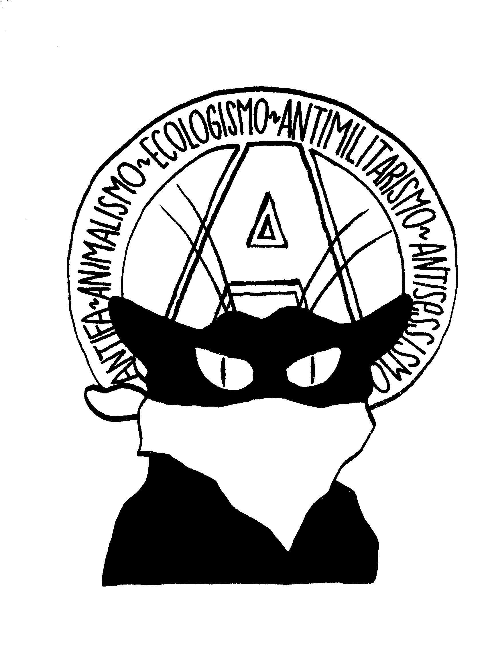 volantino antimilitarista antisessista ecologista anti fascismo antifa anti sessismo pirate disegno anarchia gatto vicenza antagonista libertaria anarchica berici carta inchiostro acrilico pennello penna